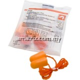 3M 1110 Corded Disposable Earplugs 100 prs / box