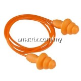 3M 1270 Reusable Corded Earplugs 100 prs / box