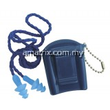 3M 1291 Reusable Earplug with braided rope and Carrying Case 50pcs/box