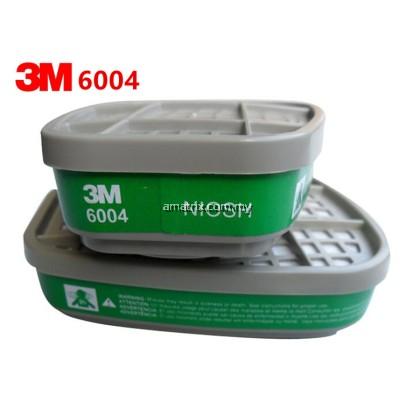 3M 6004 Ammonia Methylamine Cartridges (2 pcs / pkt)