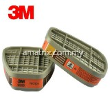 3M 6009 Mercury/Chlorine Vapor Cartridges (2 pcs / pkt)