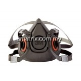 3M 6300 Double Half Face Respirator (LARGE)
