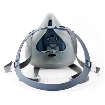 3M 7501 Silicone Double Respirator (SMALL)
