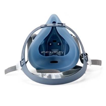 3M 7502 Silicone Double Respirator (MEDIUM)
