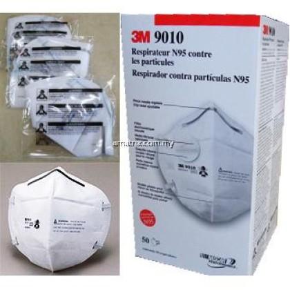 N95 3M 9010 Folded Respirator (50 pcs / box)