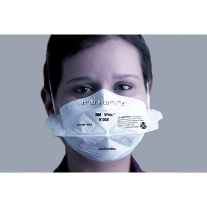 N95 3M 9105 Anti Haze Respirator Disposable Face Mask V-Flex N95 (50pcs/bo)