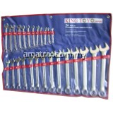 King Toyo KT-026S 26Pcs Combination Wrench Set (6-32mm)