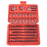 100PCS SCREWDRIVER SECURITY BIT SET TORX STAR TAMPER SCREWS HEX KEY PHILLIPS SLOTTED TRI WING SCREW DRIVER REPAIR TOOL KIT 18.50 x 12.50 x 4.00 cm