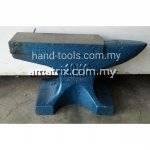 100Kg Cast Iron Steel Single Horn Anvil Bench