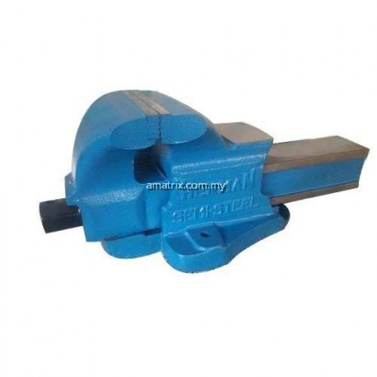 "150MM/6"" BENCH VISE Double Ribbed with large Anvil & Malleable cast nut"