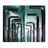 "10pcs hex key wrench 1/16"", 5/64"", 1/8"", 3/32"", 3/16"", 5/32"", 1/4"", 7/32"", 5/16"", 3/8"" SAE"