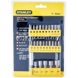 STANLEY 68-071 29PCS SCREWDRIVER INSERT BITS SET