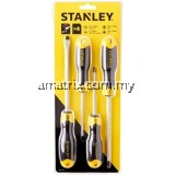 STANLEY 65-199-2 CUSHION GRIP SCREWDRIVER SET 4PC