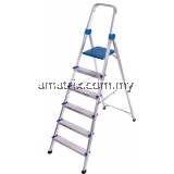 ALUMINIUM QUEEN LADDER WITH HAND RAIL (QL)