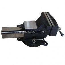 """STANLEY 81-603 6"""" CAST STEEL BENCH VISE with Swivel Base"""