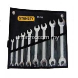 Stanley 87-718 Double Open End Wrench Set