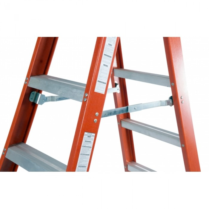 STEP BY STEP DFG10 FIBERGLASS DOUBLE SIDED A-SHAPE LADDER 10