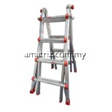 STEP BY STEP TSC3X3 HEAVY DUTY TELESCOPIC LADDER 18' (STRAIGHT HEIGHT)