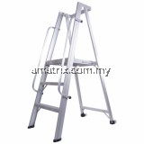 STEP BY STEP PTL09 HEAVY DUTY PLATFORM TROLLEY LADDER 3707MM