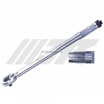 """JTC1202 3/8"""" CLICK-TYPE TIRQUE WRENCH 19~110NM/14~81FT/LB"""