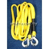 "TOW ROPE WITH CLIP ON LOCK 5/8""X14' AM8220"