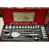 "Protima 1/2""Dr 8-32mm 24pce 6p socket set"