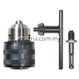 "1/2"" Drill Chuck Fits:1/2"" Bosch,Makita,Black & Decker And Most Major Brands(74-dc130)"