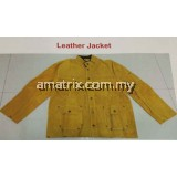 Welding Leather Jacket with Pocket