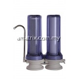 2 STAGE WATER FILTER SET WATER FILTRATION DOUBLE WATER FILTER CARBON