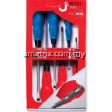 JETECH SS-6 6PCS SOFTGRIP SCREWDRIVER SET