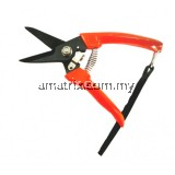 """TIGER 702 WHOLLY HEAT TREATED CARBON STEEL STRAIGHT BLADE PRUNING SHEARS 7"""""""