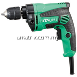 "Hitachi Rev & Variable Speed Hand Drill 3/8"" 600W 1,4kg D10VC3"