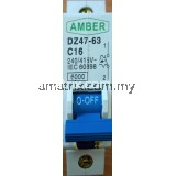 Miniature Circuit Breakers 16A 1Pole
