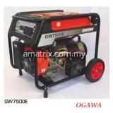 OGAWA GW7500E 6.0kW Professional Electric Start Gasoline Generator