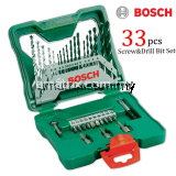 BOSCH 2607019325 33-Piece X-Line Drill and Screwdriver Bit Set