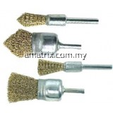 "HAWK 1/4"" Shank End Brush"