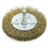 "HAWK 1/4"" Shank Wheel Brush"