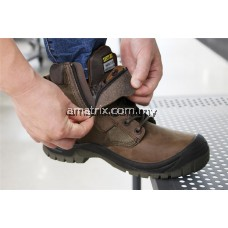 SAFETY JOGGER SHOE RUSH (WITH ZIPPER) BROWN