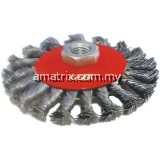 HAWK Twist Knot Tapered Brush