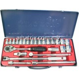 "KINGTOYO 1/2"" SQ. DRIVE METRIC HAND SOCKET WRENCH SET"