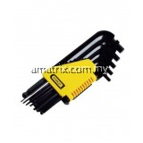 STANLEY 69-256 HEX KEY SET 9PCL/ARM MM