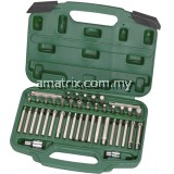 SATA 09327 42pcs 8mm Hex Shank Bits Set