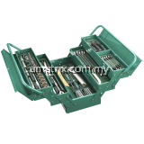 SATA 95104A-80 Cantilevel Mechanic Tool Chest Set (mm)3/8DR 12PT