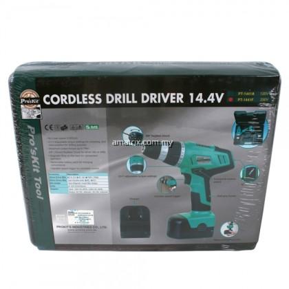 Pro'skit PT-1441F Cordless Drill Driver 14.4V (230V AC 50Hz)