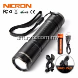 Nicron N62 300LM Compact USB Rechargeable Flashlight