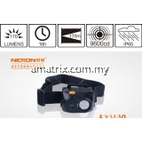 NICRON EXH90 RECHARGABLE HEADLAMP LAMP TORCHLIGHT FLASHLIGHT IP65 HEAVY DUTY