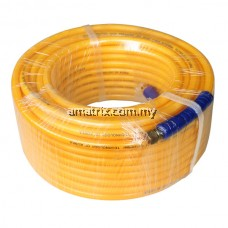 """38-PH443 5/16""""X20M HIGH PRESSURE AIR HOSE With Brass Fitting"""