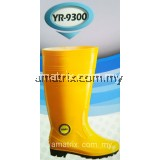 COLEX YR-9300 PVC RAIN BOOT YELLOW 14""