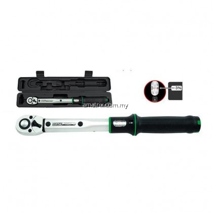 """TOPTUL ANAM1610 1/2""""Dr 10-100Nm Micrometer Adjustable Torque Wrench(Window Display)"""