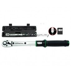 "TOPTUL ANAM1620 1/2""Dr 20-200Nm Micrometer Adjustable Torque Wrench(Window Display)"